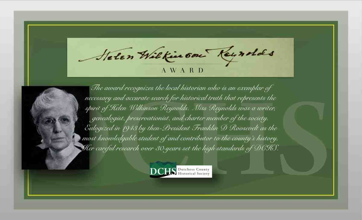 HELEN WILKINSON REYNOLDS AWARD