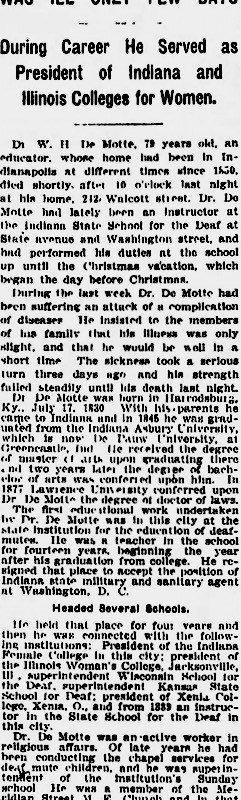 Indianapolis Star Jan 03 1910
