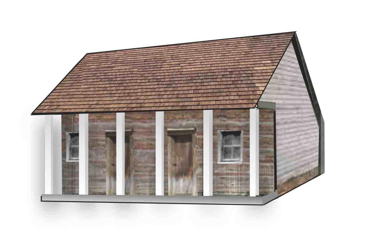 Artist rendering of Meeting House