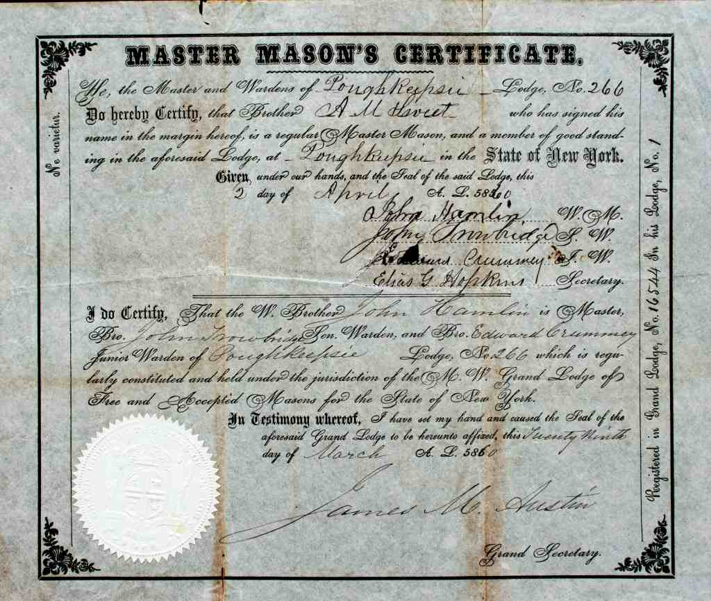 Masonic 005 1860 Sweet