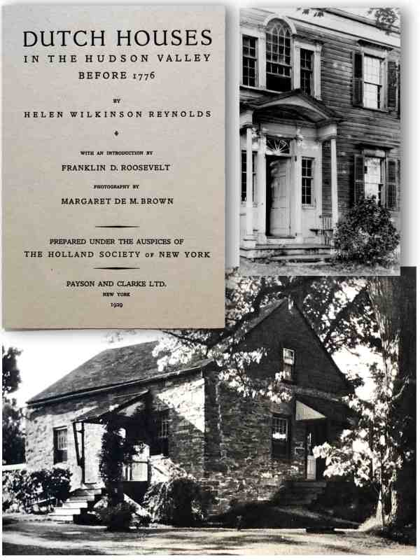FDR wrote the forward, Reynolds did the writing, DeMotte Brown the photography of this landmark book.