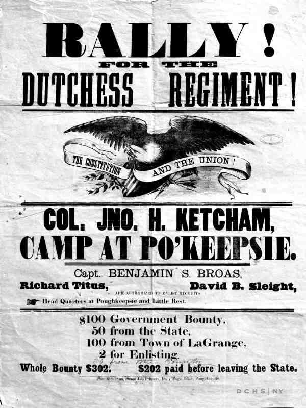 DCHS Civil war Rally Dutchess