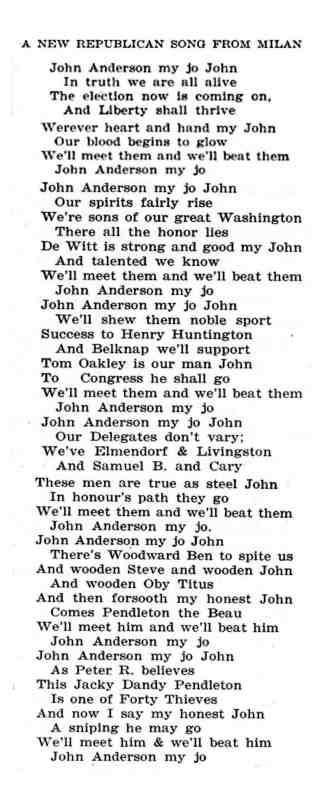 1826 Republican Song