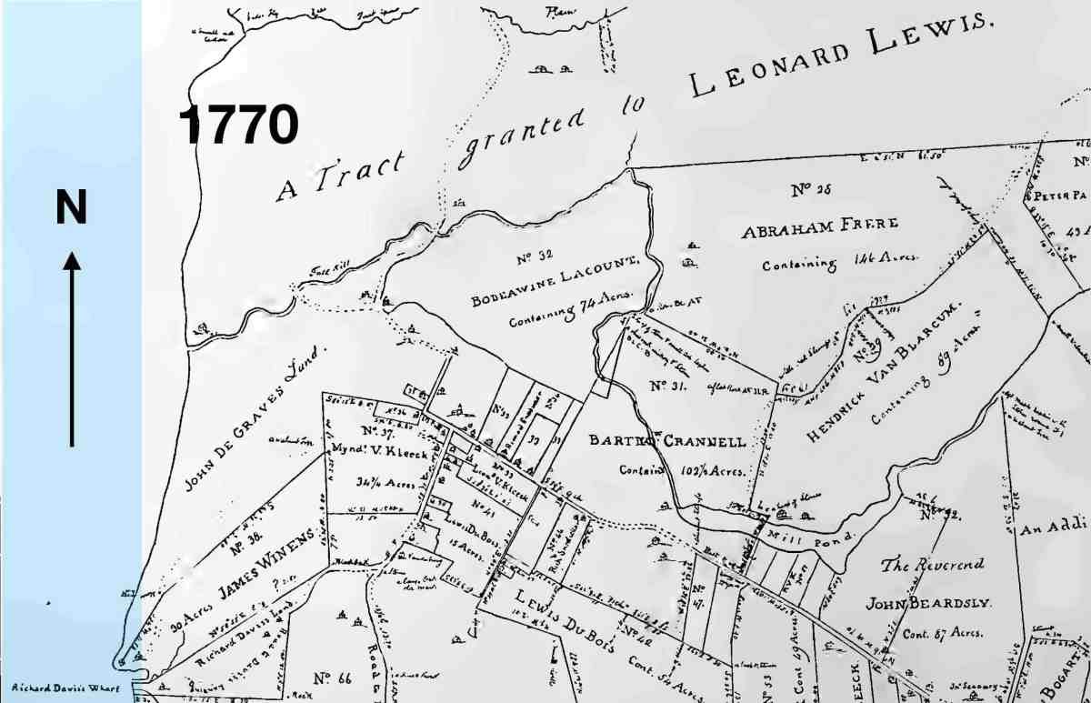Pough Lewis Land 1770