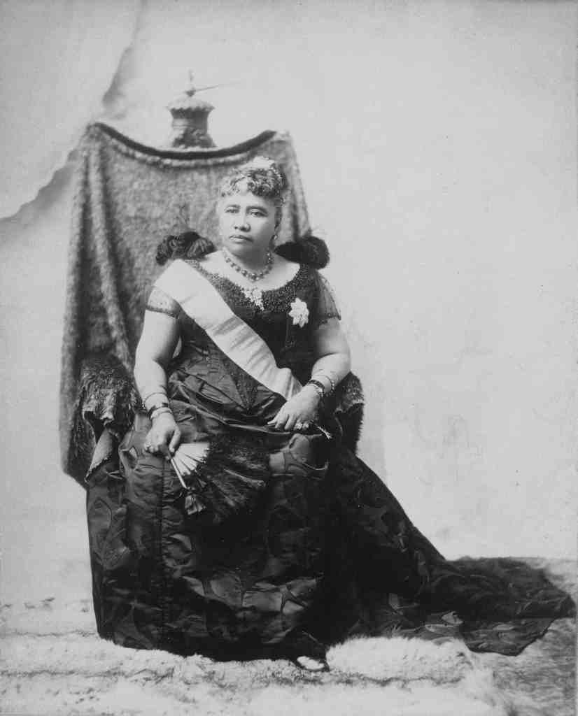 Liliuokalani, one-time Queen of Hawaii