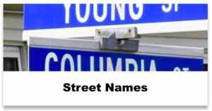 wb street names