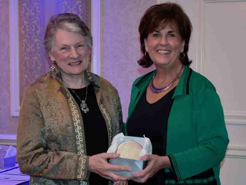 Betsy Strauss with Denise Doring Van Buren