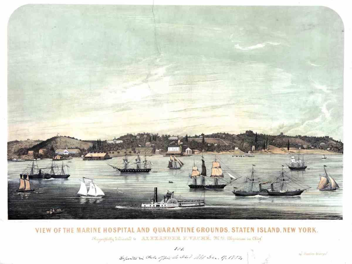1854 Staten Island Quarantine