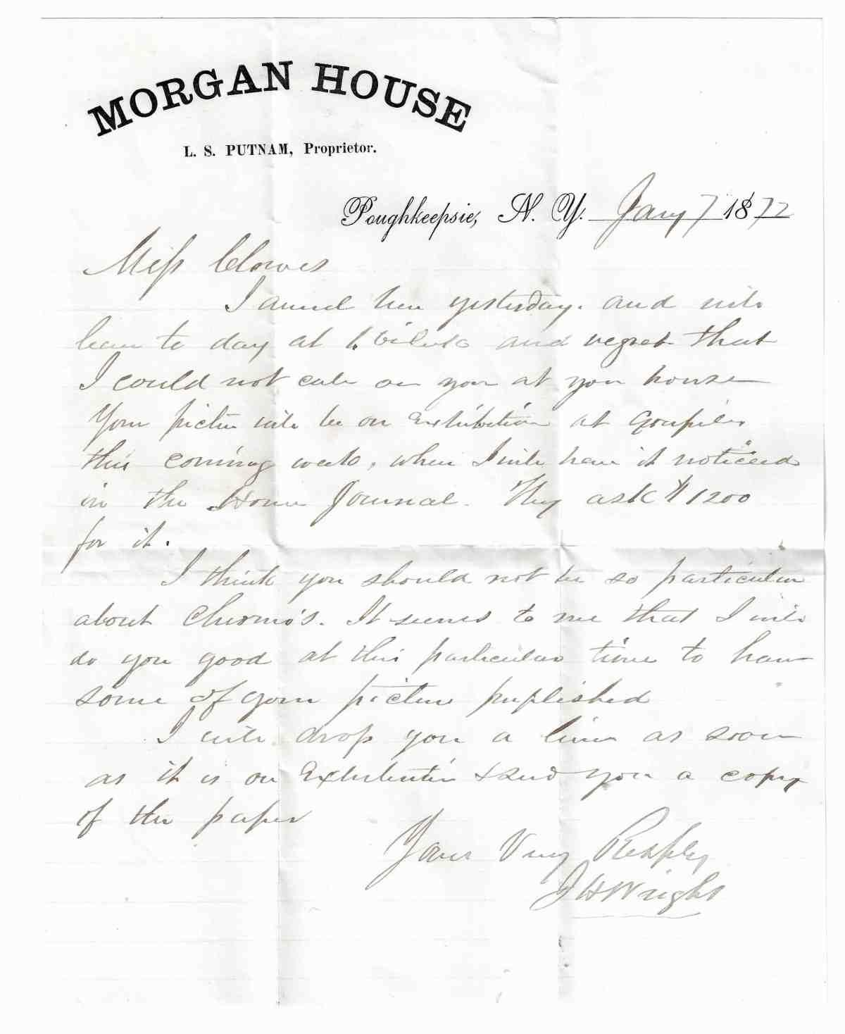 CMCE J H Wright 1872 JAN 07