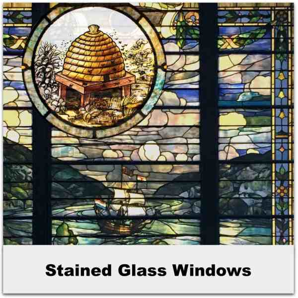 Stained Glass Windows SQ