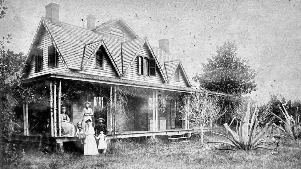 Three Oaks, c. 1890.