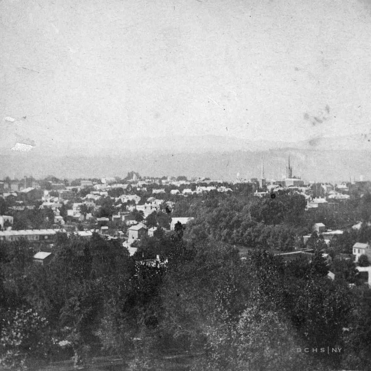 View from College Hill Bierstadt DCHS