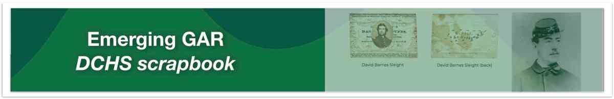 DCHS GAR Scrapbook