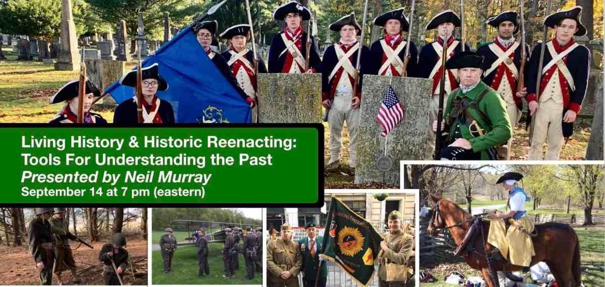 Sept 14 Living History
