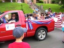 Cars at 4th of July Parade