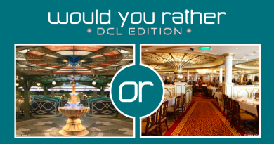 Would You Rather – DCL Edition: Enchanted Garden or Royal Court?