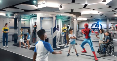 Disney Wish - Disney's Oceaneer Club - Marvel Super Hero Academy