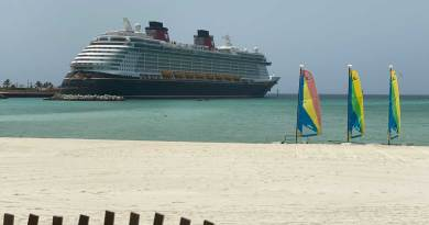 Select Itineraries Modified for Sailings on the Disney Dream