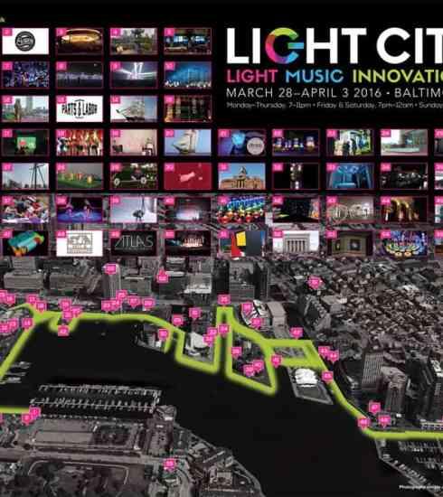 Light City Baltimore Map