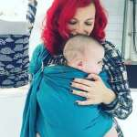 Picture of Xza with baby