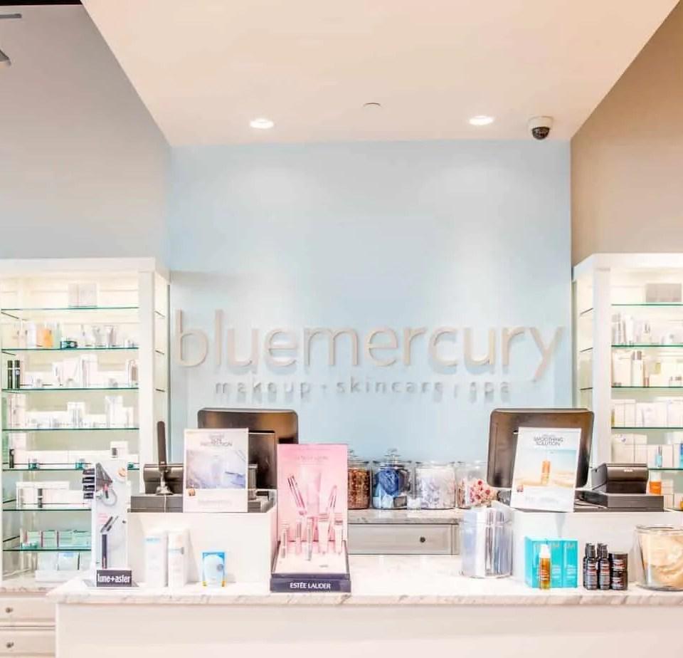 Bluemercury register view