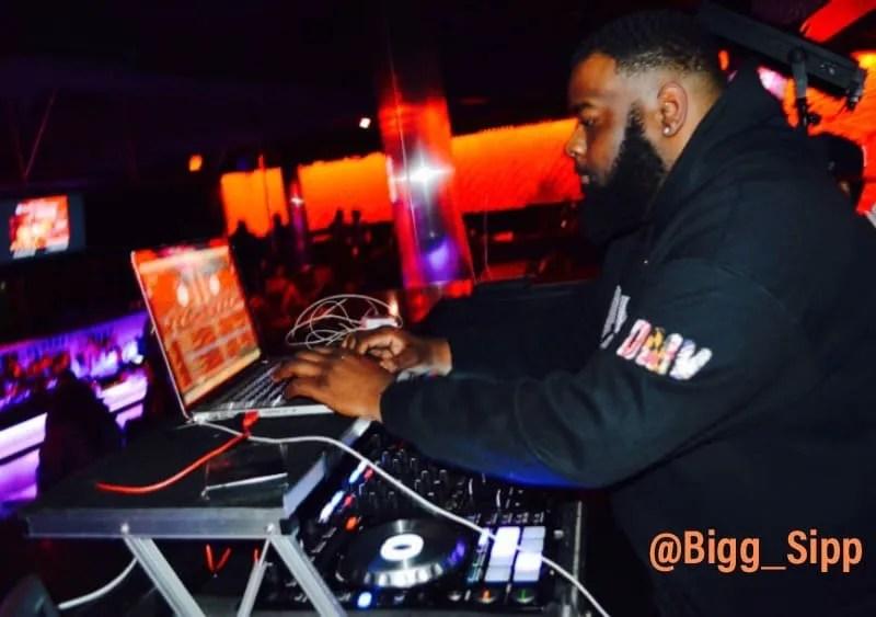 Bigg Sipp DJing