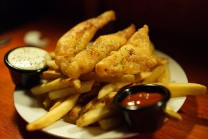 fries that tase like fish