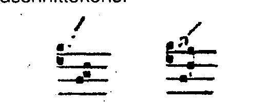 Voorbeeld 8: Scandicus en Salicus