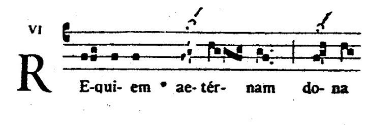 Voorbeeld 10: Graduale Romanum p. 669