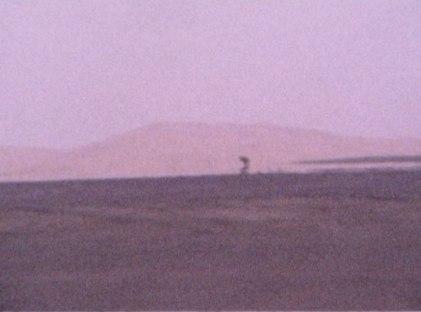 Fotogramma dal video di Salvo Cuccia. Deserto del Sahara, Marocco, 2008. Fonte: YouTube.