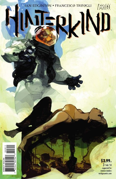 Cover to Issue 3 by Greg Tocchini.