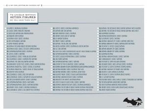 Full checklist