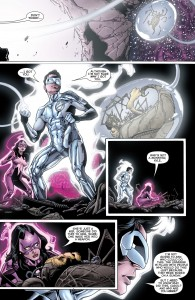 GREEN LANTERN: NEW GUARDIANS #33 - Carol and Kyle rescue captives