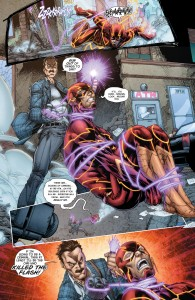 Flash gets attacked by James Jameson, wait what?