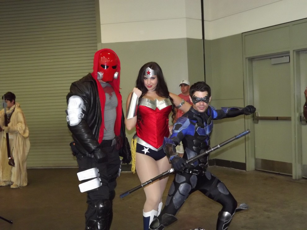 Red Hood,WW and Nightwing