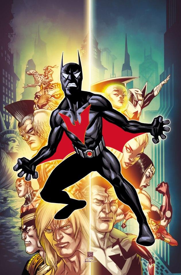 Batman Beyond Cover #1
