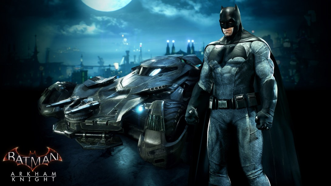 DC Comics News Batman v Superman Skins Arkham Knight