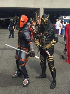Deathstroke and Talon