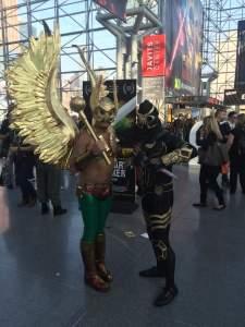 Hawkman and Talon