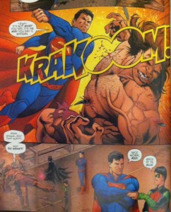 Grayson Annual 2 Supes and Blockbuster
