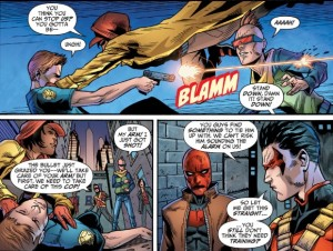 Teen Titans 15 Jason Tim and Robins