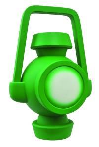 JL ANIMATED GREEN LANTERN BATTERY VINYL BANK