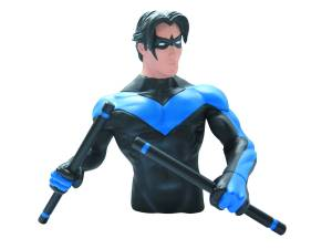 DC HEROES NIGHTWING BUST BANK
