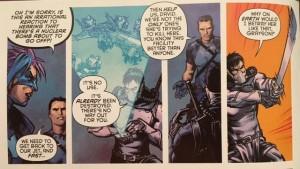 Batman and Robin Eternal 14 David is a douche