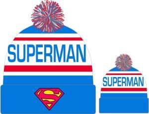 DC HEROES SUPERMAN BIGGEST FAN KNIT CAP