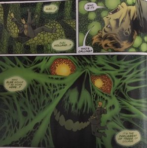 Swamp Thing 5 Alec and the Parliament
