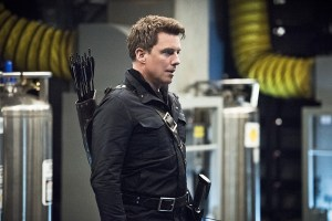 """Arrow -- """"Monument Point"""" -- Image AR421a_0029b.jpg -- Pictured: John Barrowman as Malcolm Merlyn -- Photo: Dean Buscher/The CW -- © 2016 The CW Network, LLC. All Rights Reserved."""