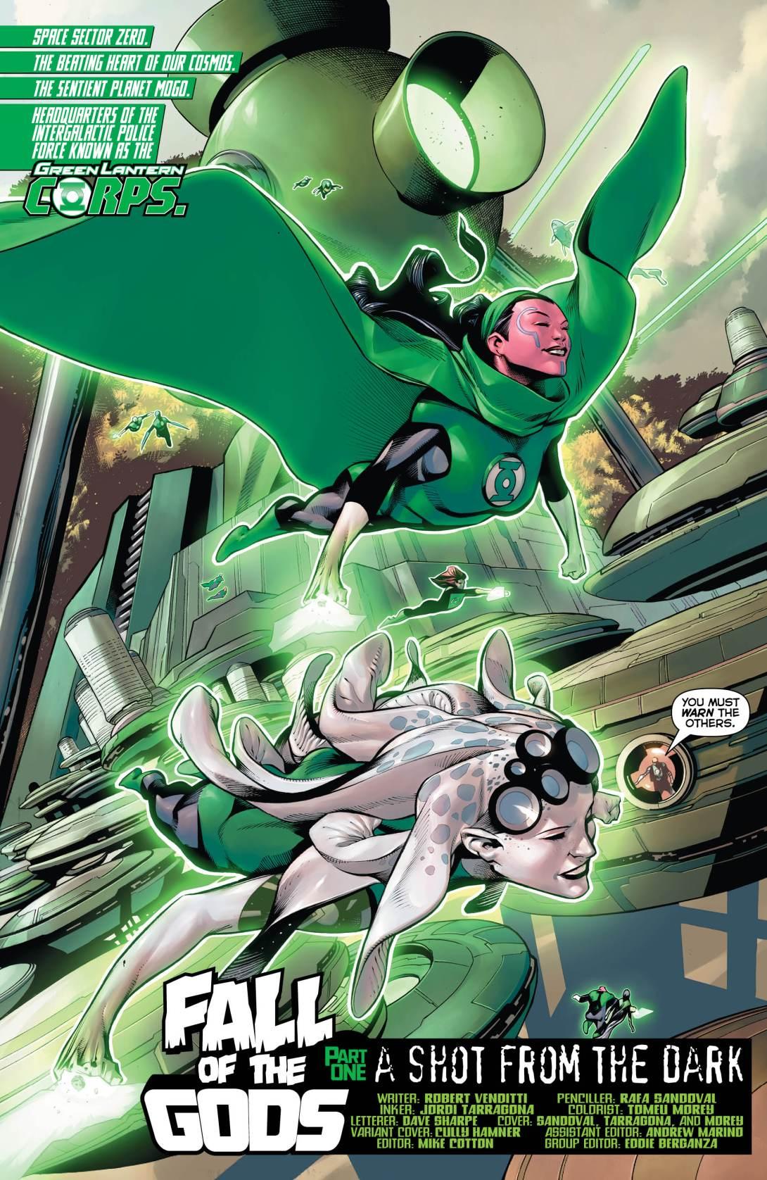 Hal GL Corps - 3 - DC Comics News