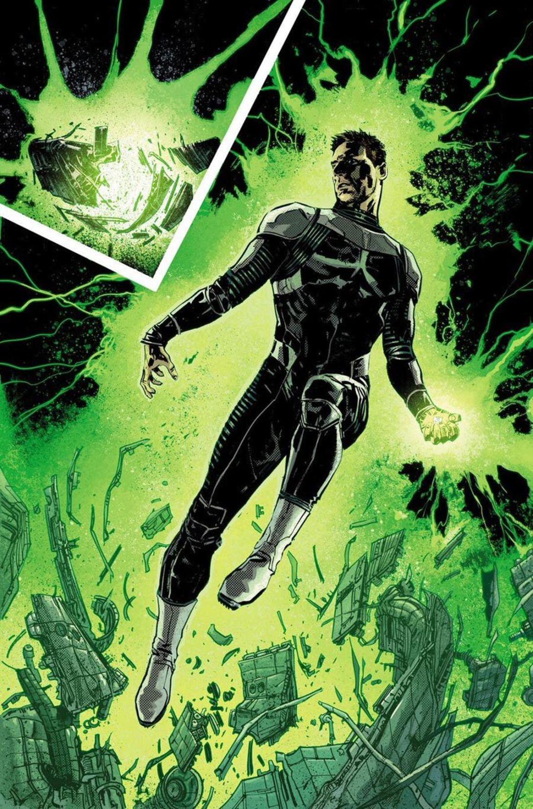 Green Lantern Earth One 3 - DC Comics News