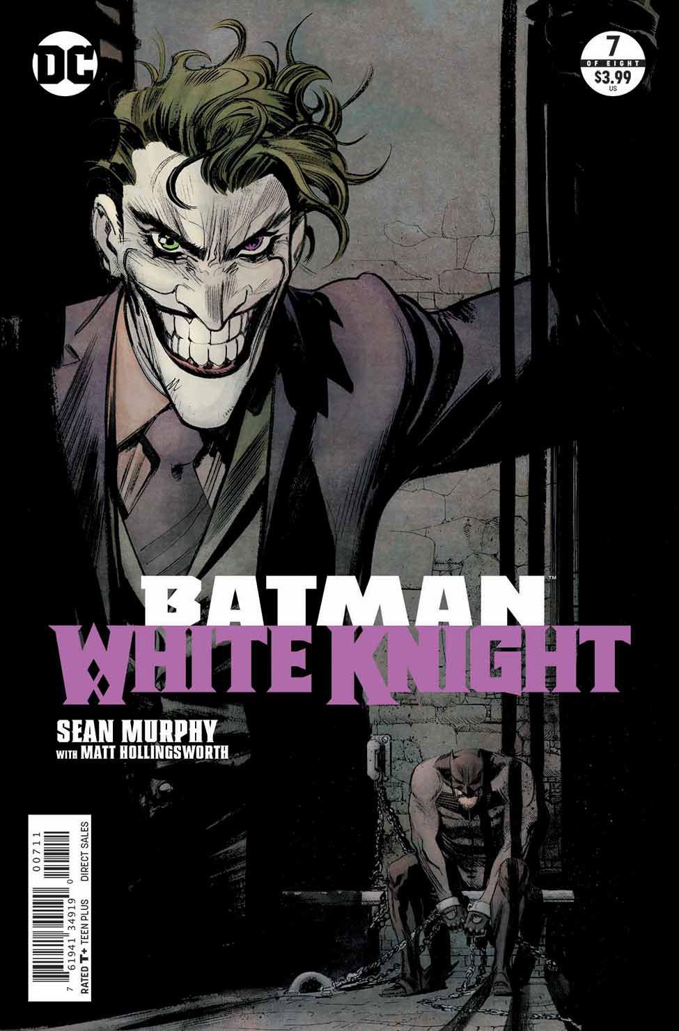 Batman White Knight 7 Cover - DC Comics News